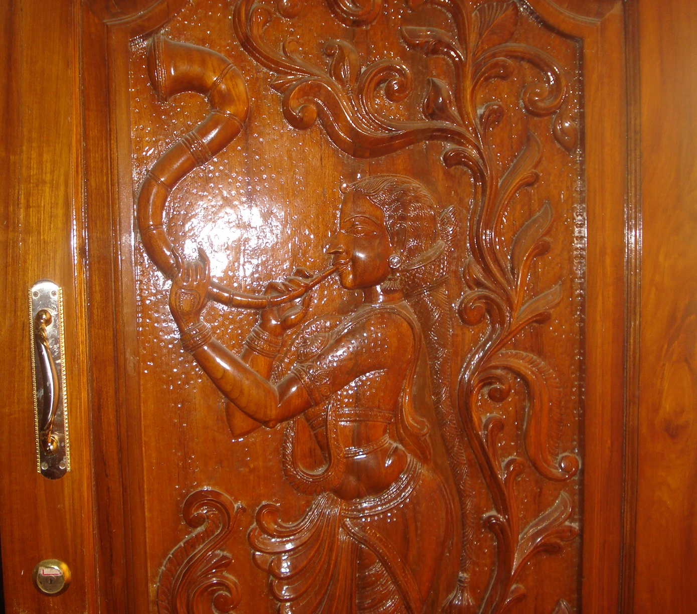 Design your entrance for peace and prosperity of your for Main entrance door design india