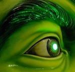 evil eyed-monster
